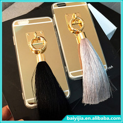 High Quality Hard Case for iPhone 6 Tassel Case for iPhone 6 for iphone 5 5s case.