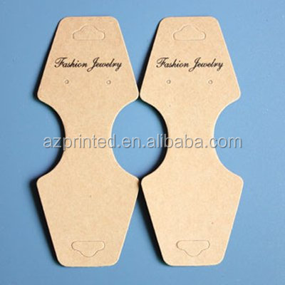 factory outlet recycled personalized printed paper tag oem jewelry