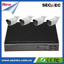 china alibaba sectec 720P cctv camera 4ch nvr kit CE,FCC,ROHS certification
