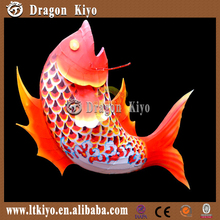 2015 Chinese Festive fish latern outdoor decoration
