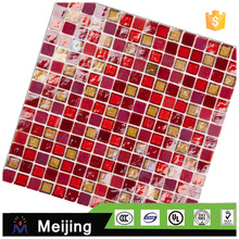New interior decoration hot melt stone skin mosaic for building materials