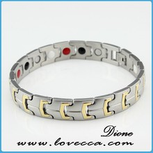 bio ceramic bracelet 2015 fashion healthy design jewelry germanium,negative ion,magnetic women bio ceramic bracelet