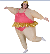 New Arrival Colorful Inflatable Ballerina Costume For Party