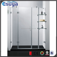 Frameless shower eclosure room simple shower portable bath shower screen