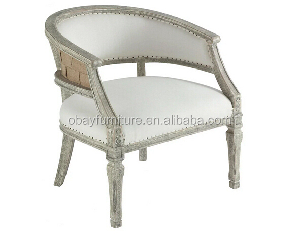 vintage french style upholstered antique wood carved arm chair antique
