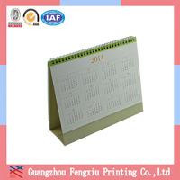 Feedback Within 6 Hours Guangzhou Custom-Made Desk Calendar