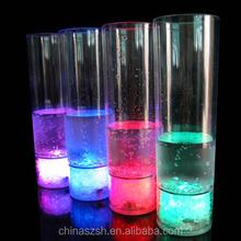 Factory Wholesale Plastic LED Light Up Juice Glass
