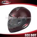 de alta calidad el dot ece de fibra de carbono casco de la motocicleta