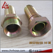 Pressure control hydraulic quick disconnect coupling