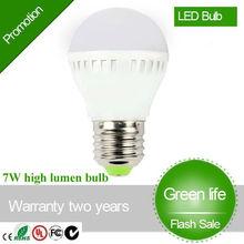 LED Bulb 7w E27 2835 SMD LED High Lumen LED Bulb 7W Plastic E27 LED Light Bulb LED Bulb Cold Warm White LED Bulb 7W E27 LED Bulb
