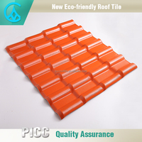 Wholesale Price Asian Style Plastic Polycarbonate Roof Tiles