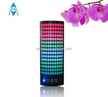 Innovative new design active speaker with usb sd fm radio