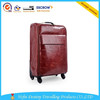 Fashional new design reasonable luxurious hig hquality leather travel trolley bags