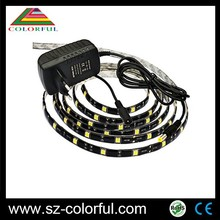 CE Rohs certificate 24v flexible waterproof rgb led strip 5050