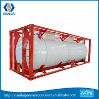 18000L 20000L Liquid Nitrogen Oxygen ISO Storage Tank