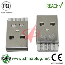 PBT Usb type a short connector