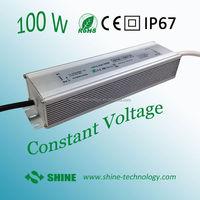 High quality 24v 12v waterproof ip67 ip68 100w power supply led