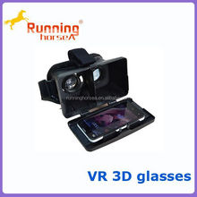 Virtual reality google VR 3D Glasses for smart phone polarized 3d VR glasses type