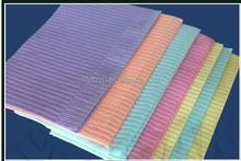 2 ply paper + 1 ply poly film dental products China Disposable medical dental bib