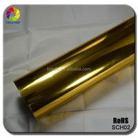 TSAUTOP Rohs Certificate air free bubbles 1.52*30m chrome vinyl wrap folie