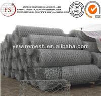 stone gabion iron wire box/gabion mesh boxes/gabion stone cage box (direct factory)