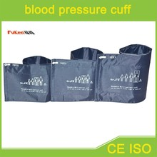 Adult size Patient monitor NIBP blood pressure cuff with one tube