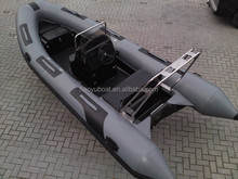 15.4ft/4.7m sport rib boat motor boat inflatable boat for sale rubber fishing boat hypalon or PVC