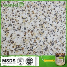 Granite effect, anti-ultraviolet radiation anti graffiti coating