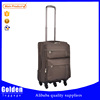 China Manufacturer Wholesale high quality travel luggage - 4 wheels comfortable handle trolley luggage bags on discount