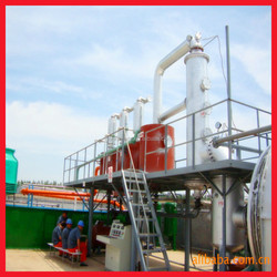 10 ton pollution-free lowest cost of Plastic Recycling Machine with 65% oil profit