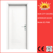Promotional New Design PVC Coated MDF Doors SC-P066