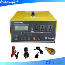 Energy saving high power 1kw solar power system for home use inverter and controller all in one