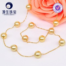 Wholesale Fashion Crystal Jewelry Design Handmade Long Pearl Necklace