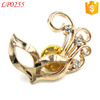 Custom Pearl Brooch Pin, Korean Rhinestone Brooch, Crystal Flower Brooch