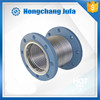 large pipes metal plumbing double flanged flexible expansion joints pn20