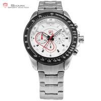 Analog Quartz Stainless Steel Chronograph Men Vogue Watches SH279