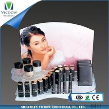 acrylic sheet acrylic box multi tiers acrylic cosmetic display for cosmetic,jewelry,commodity makeup