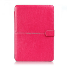 """PU Hard Shell Protective Case for Macbook New Macbook 12"""" inch Retina [2015 Release](Rose)"""