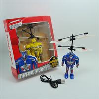 2015 fighting game flying robot gyro 2ch rc flight man shenzhen toys