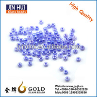 JIN HUI Chinese glass beads factory decorative glass beads for jewelry wholesales opaque luster 12/0 glass beads