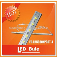LED Rigid Strip Light 5050 30leds 0.5Meter 12V 7.2w PVC Light bar CE Rohs Fcc Approved