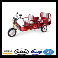 SBDM Battery Power Passenger Motorcycle Foldable Tricycle