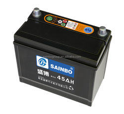45AH Capacity and lithium battery dry charged car battery