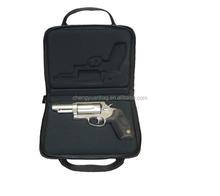 Hard leather shotgun case