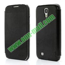 Crazy Horse Texture Flip Stand Wallet Style leather back cover for samsung galaxy s4 with Magnet