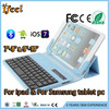 Universal bluetooth keyboard case for 7'' Tablet PC bluetooth keyboard leather case for mini ipad
