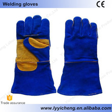 Welding safety working gloves heavy industry working protection cheap and durable long sleeve