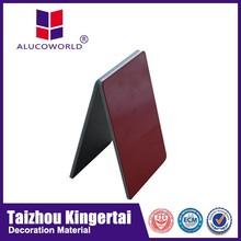 Alucoworld construction building material modern aluminum composite panel(acp) for new facade supplies