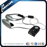 """High Quality 56"""" Virual Display Helmet VR Headset 3D Glasses for TV/PC"""