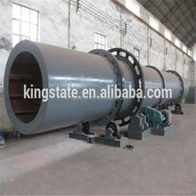 Low consumption wood chips /slag/clay/cassava rotary drum dryer